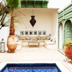 Riad pool Marrakech