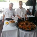Fantastisk traditionell mat, Paella alltid en säker favorit även i Palma