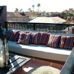 Takterass riad Marrakech